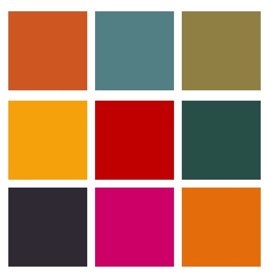 Moroccan Color Palette!