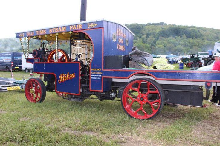 Auction Lot 3174  (Steam wagon. Built by J. Borthwick 1976, single cylinder,Thr..) Image 1