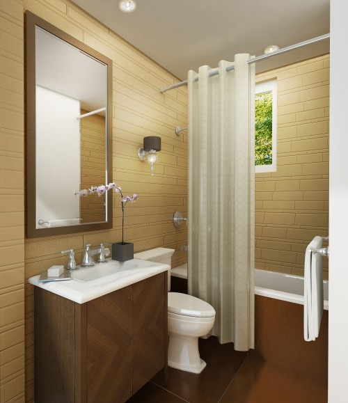 134 best images about home bathroom spa on pinterest - Very small bathroom ideas ...