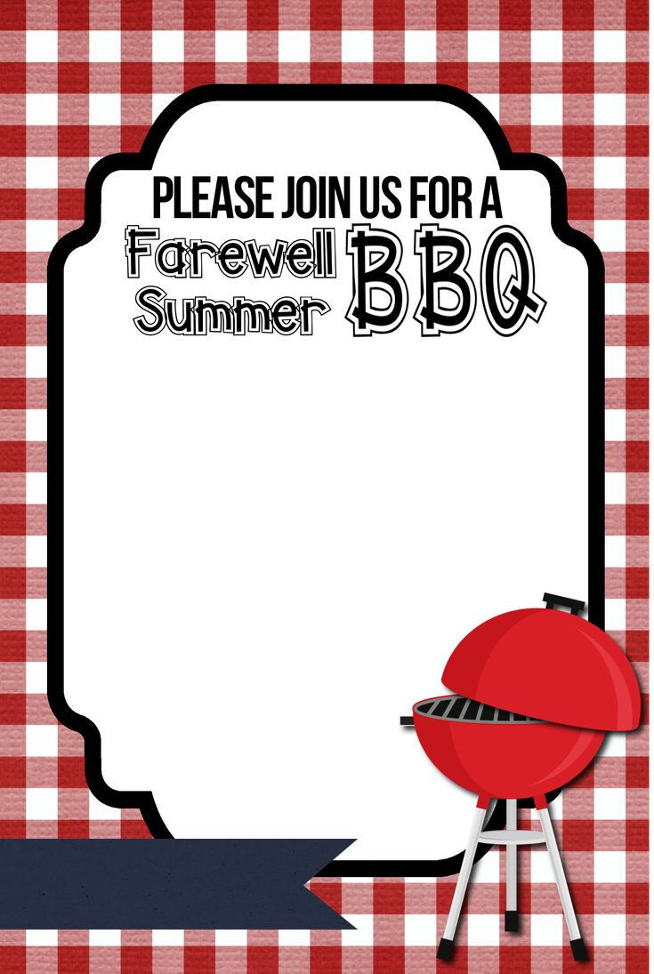 Free Printable Bbq Party Invitation Template Barbecue Invitations Bbq Invitation Party Invite Template Bbq party invitation templates free
