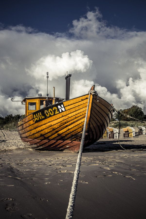 Cloudy Boat by Andreas Dumke on 500px