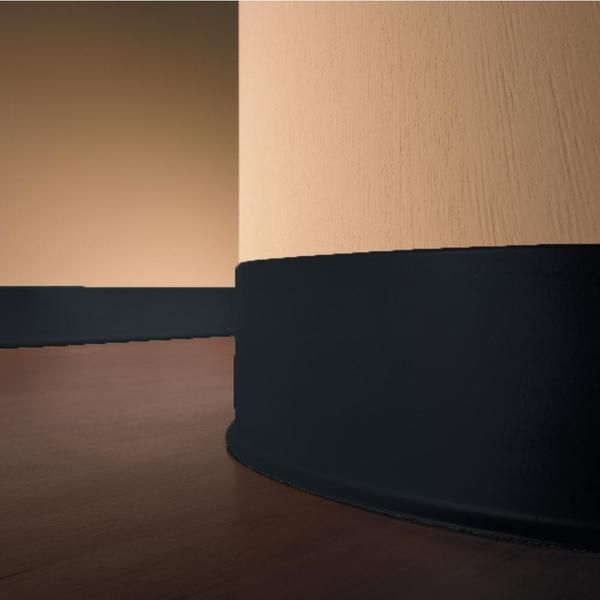 Vinyl Baseboard Black 4 Inch Cove Base Wall Molding Trim 100 Roppe 4 In X 080 In X 120 Ft Cove With Standard Toe Baseboards Moldings And Trim Wall Molding