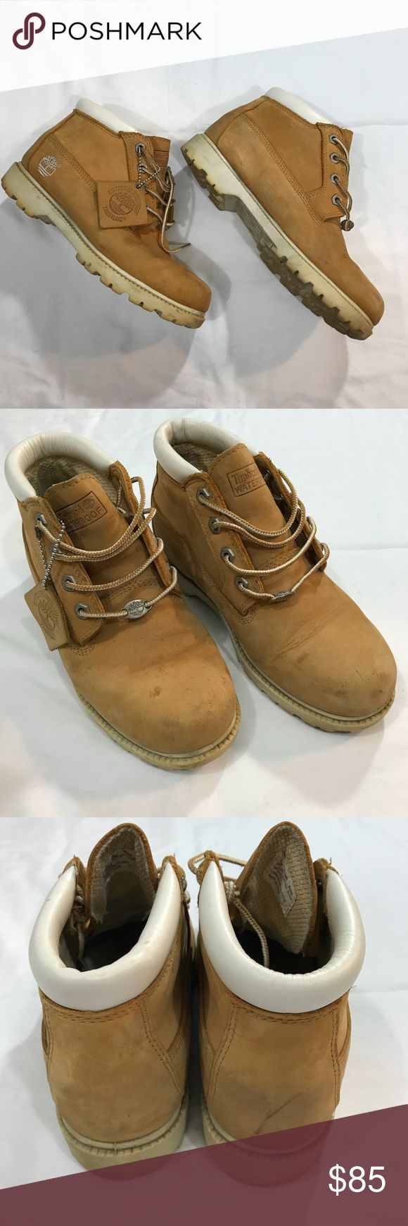 Timberland waterproof work boots Gently worn Timberland waterproof work boots. Some marks on the toe area and on heel but in good condition Timberland Shoes Lace Up Boots