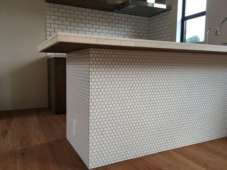 ENJOYWORKS/エンジョイワークス/スケルトンハウス/tile/タイル/kitchen/カウンター