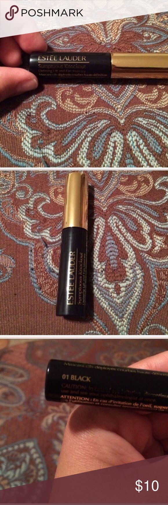 Estée Lauder sumptuous volume mini mascara Brand new, authentic Estee Lauder Makeup Mascara