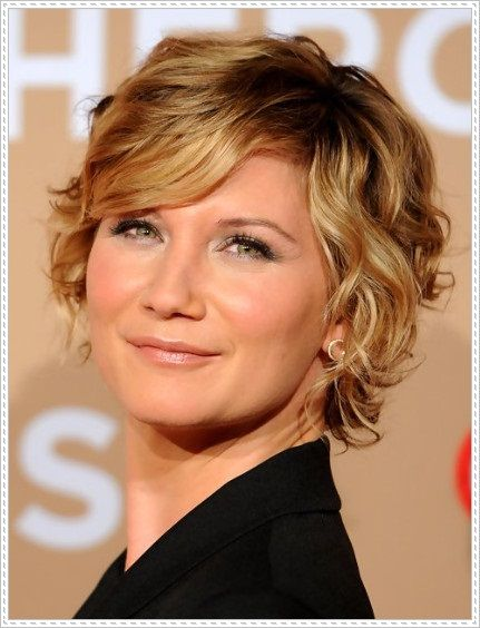 30 Best Curly Hairstyles For Short Hair Images On
