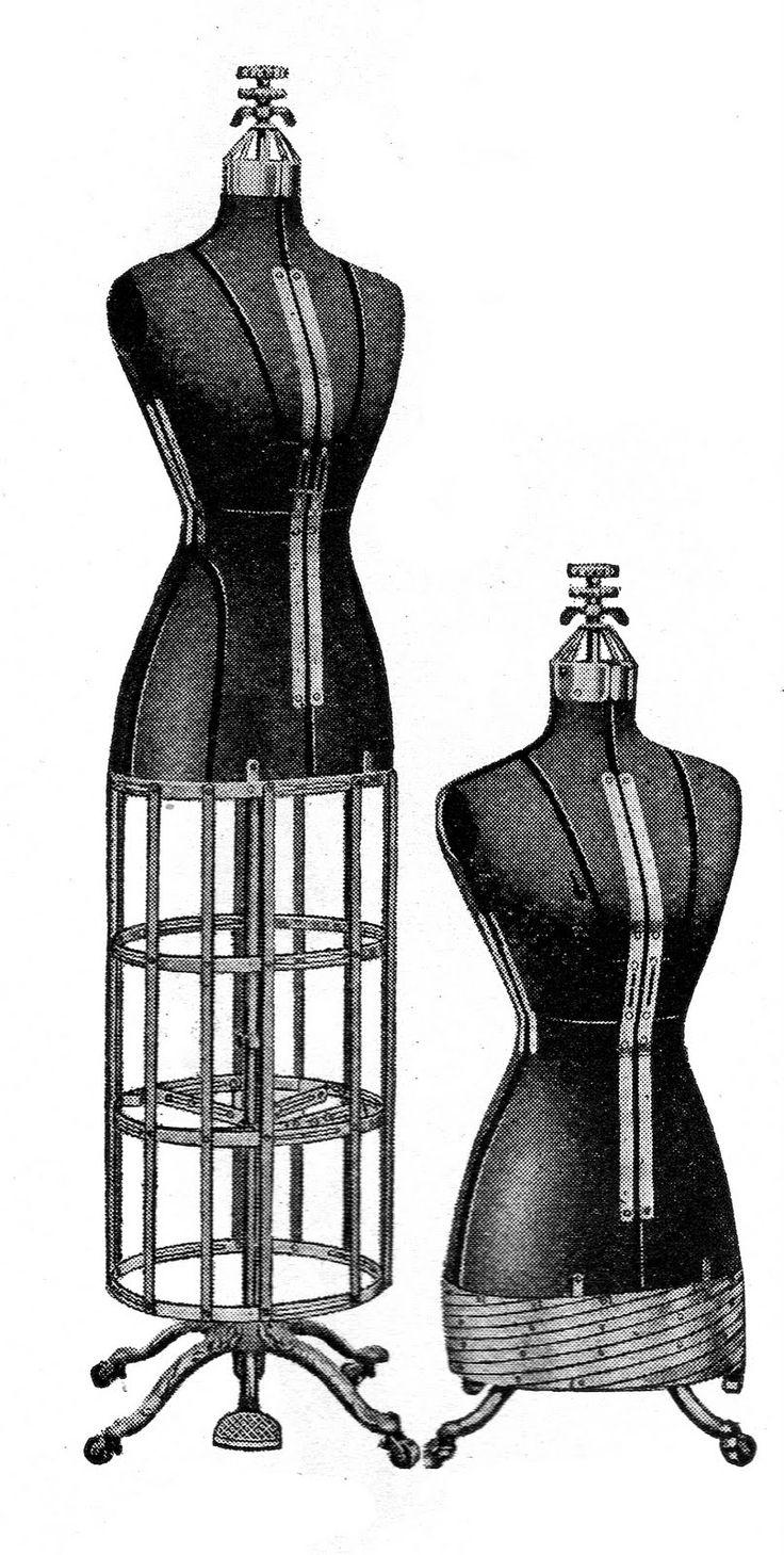 190 best Dress forms / Mannequins images on Pinterest | Vintage ...