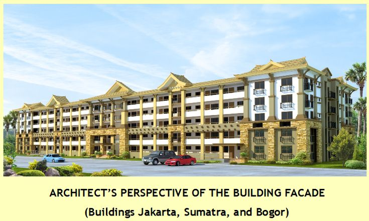BALI OASIS Pasig by Filinvest Phase 1 building perspective