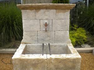 French Stone Fountain