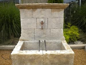 French Stone Fountain