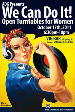 ADG Presents: Open Turntables for Women