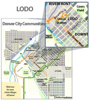 Denver S Map on