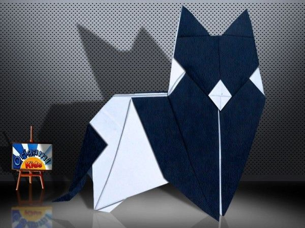 accessories jewelry store online Origami Cat  Katzen  by Peter Forcher  Designer  Peter Paul Forcher  Folder and Photo   Origami_Kids  Complexity  Intermediate  Time to fold 30 min  24 steps  Folded from a one Square origami black and white paper  about 20 cm x 20 cm  Diagrams in Origami by Peter Paul Forcher  Folding Instruction  http   origami blog origami kids com origami cat katzen by peter forcher htm