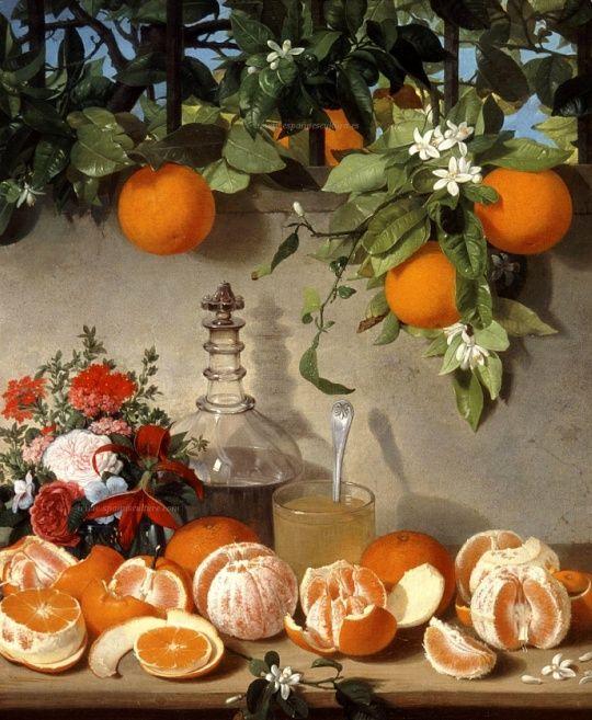 Bodegon de naranjas_JulioRomerodeTorres