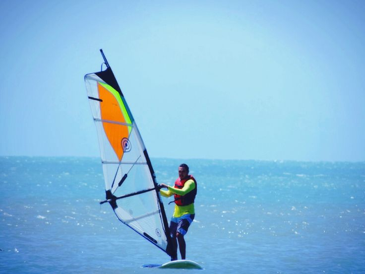 Windsurf no porto do Mucuripe