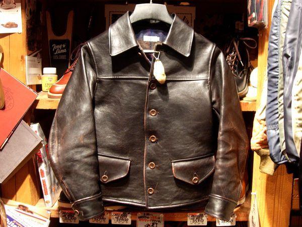ジャンキースタイル≪経年変化録≫Heller'S Cafe〜Leather Sport Jacket〜
