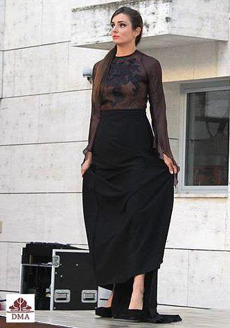 Uszályos ruha gótikus stílusban https://www.facebook.com/Kekiandi/