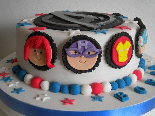 Detalles Torta Vengadores | Pastelera Bakery Shop | Flickr