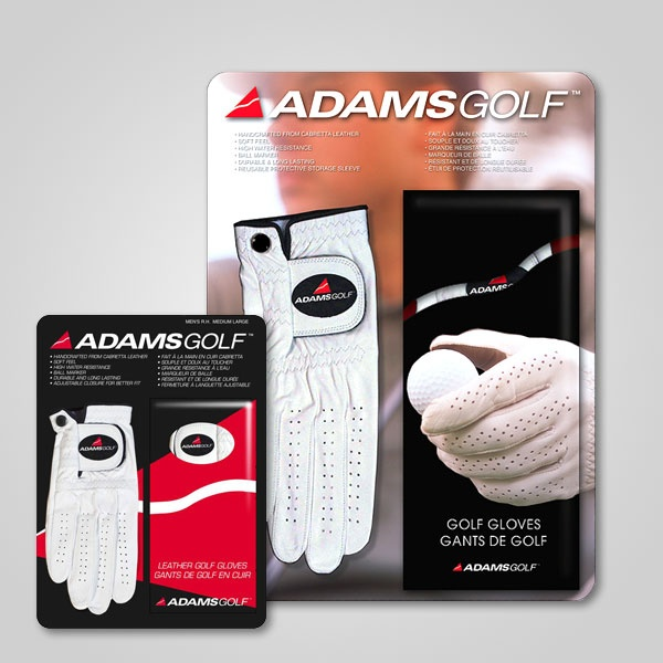 Adams Golf Gloves Packaging