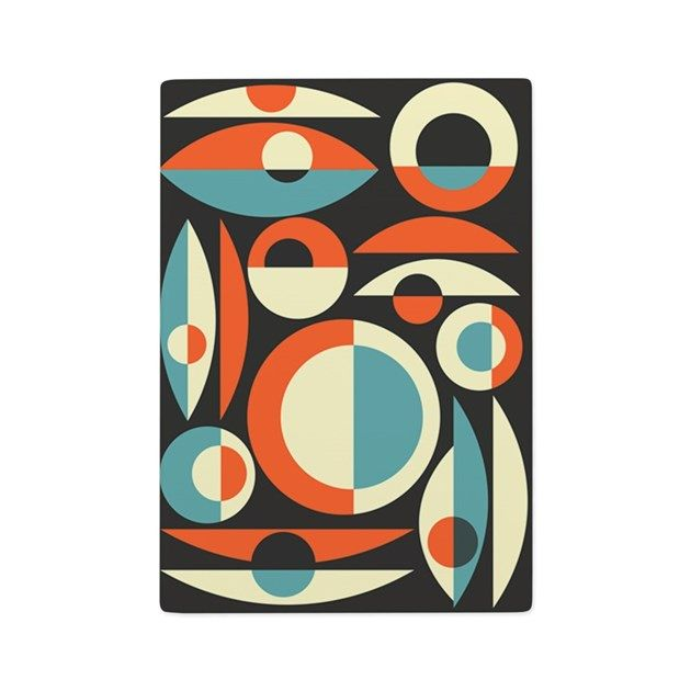 For all you midcentury modern fans: A fun Eames-Era Atomic inspired design adds a fun 1950s-60s retro flair to these gift items. Search for Makanahele to see my other designs