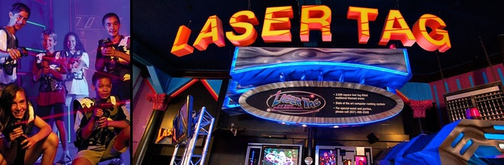 Laser Tag at the Santa Cruz Beach Boardwalk. Fast-paced adventure game of high-tech hide-and-seek!  Admission is $5 per person or $4 with a Boardwalk Unlimited Rides Wristband.     This isn't Virtual Reality, IT IS REALITY! Players compete in teams or head-to-head in our 3,500 square foot arena!