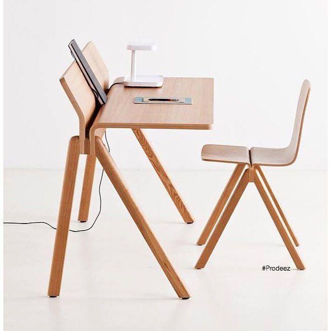 From Prodeez Product Design: Copenhague School Furniture by Ronan & Erwan Bouroullec. #furniture #desk #chair #wood #creative #design #ideas #style #art #designer #erwanbouroullec #ronanbouroullec #architecture #interior #interiordesign #product #productdesign #instadesign #furnituredesign #prodeez #industrialdesign