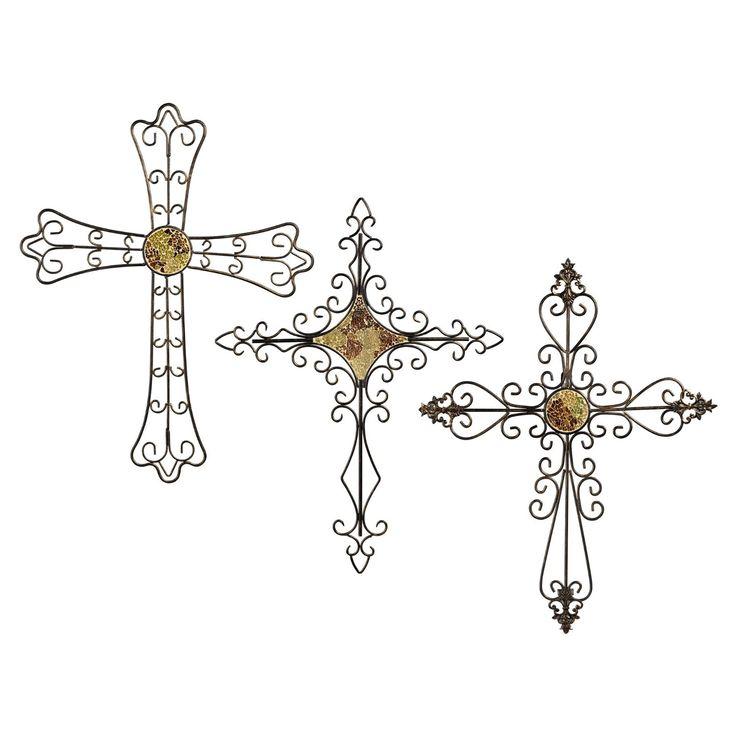 Wall Decor Crosses 77 best decorative crosses images on pinterest | decorative