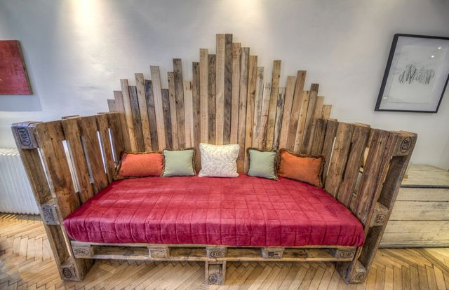 Brody House wooden up cycled furniture