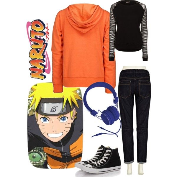 Naruto inspired outfit