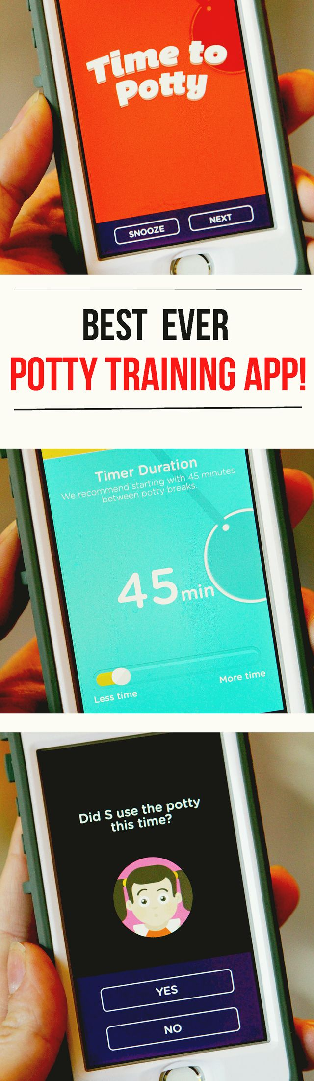 Best Ever Potty Training App: