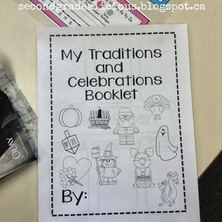 A traditions and celebrations research activity #socialstudies