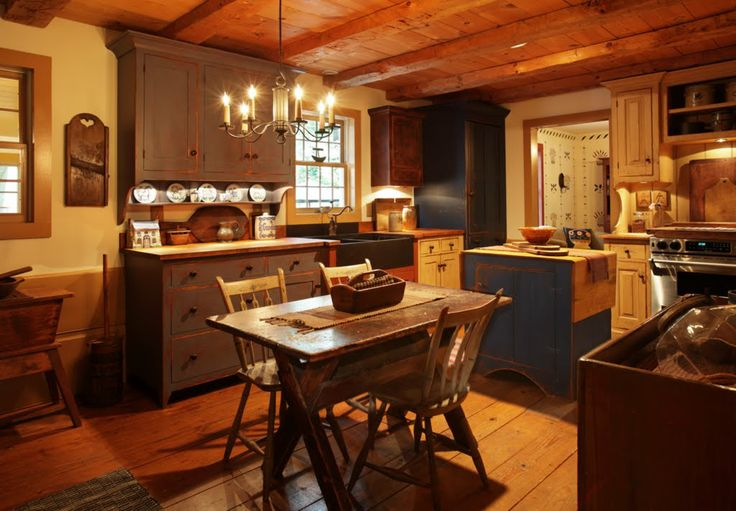 Clinch Kitchen photo by Tim Tanner: Beautiful Kitchens, Farms Houses, Cabinets Style, Primitive Kitchens, Wood Kitchens, Country Living, Country Kitchens, Kitchens Photos, Kitchens Antic