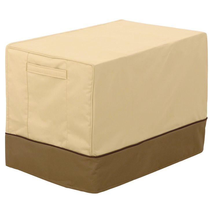 Veranda Medium Window Air Conditioner Cover - Light Pebble - Classic Accessories