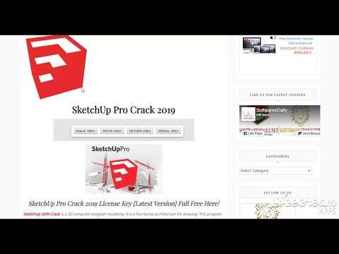 SketchUp Pro 2019 Crack License Key {Latest Version} Full Free Here