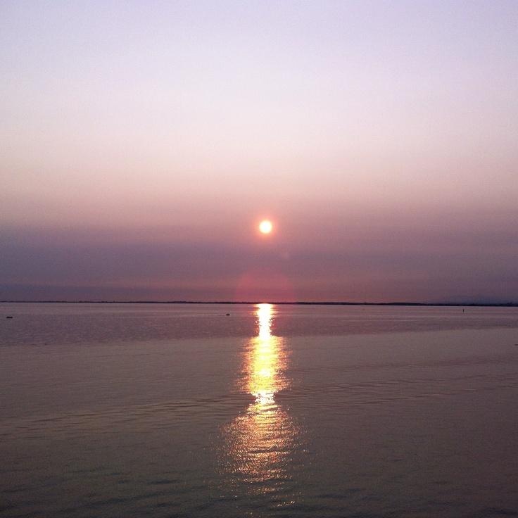 Sunset at Crescent Beach  #SummerInSurrey #SurreyBC