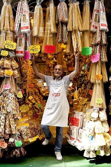 Pasta Shop Keeper ~ Naples, Italy