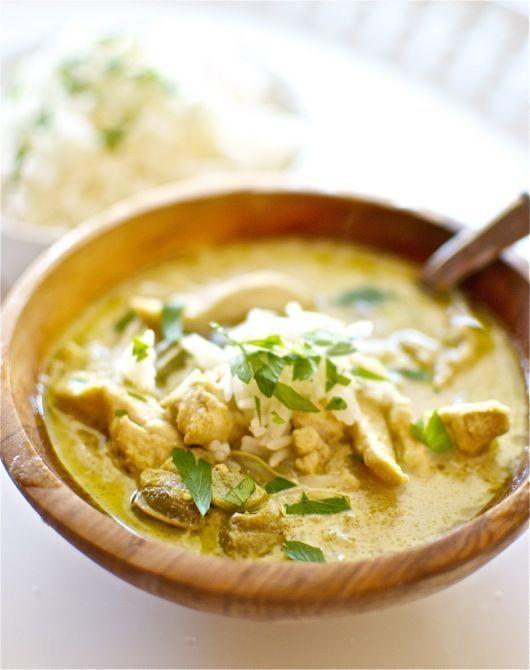 Curry verde de pollo, receta tailandesa con Thermomix « Thermomix en el mundo | https://lomejordelaweb.es/