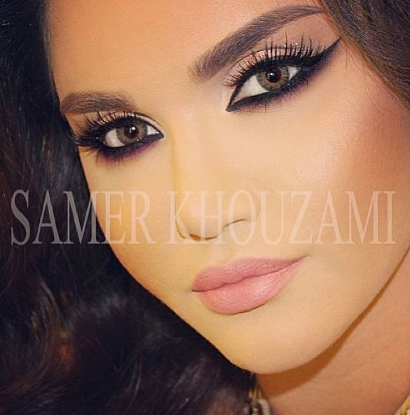 Amaizing Look By Lebanese Makeup Artist Samer Khouzami ✨✨✨