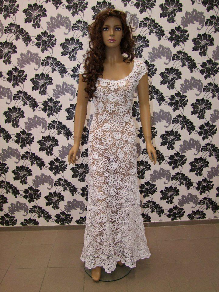 The 242 Best Crochet Wedding Dresses Images On Pinterest Crochet