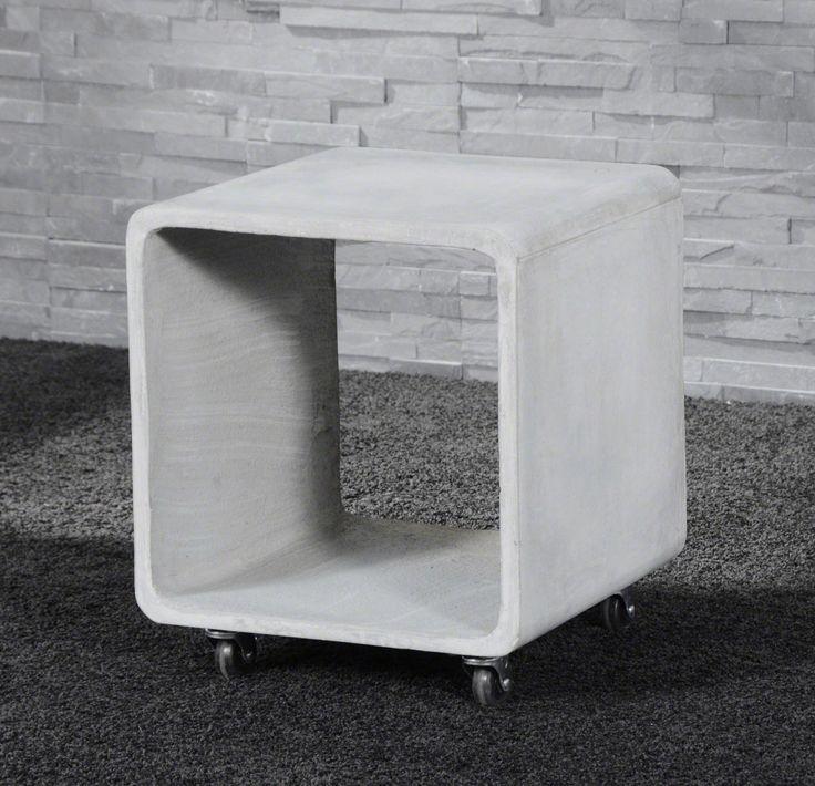 ✓ Kubusvormig tafeltje met betonlook ✓ Scherpe prijzen ✓ Snelle levering op afspraak ✓ Woonkamer inspiratie: industrieel, design