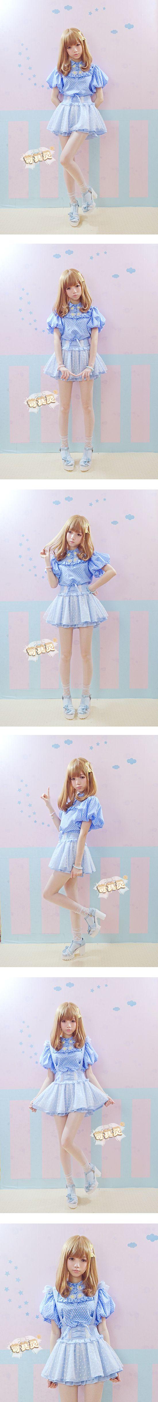 Exclusive girls school uniforms girls harsh harsh summer Feifei sleeve bow skirt tutu skirt overalls - Taobao