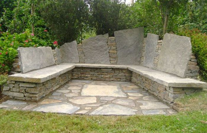 how to build a stone forge