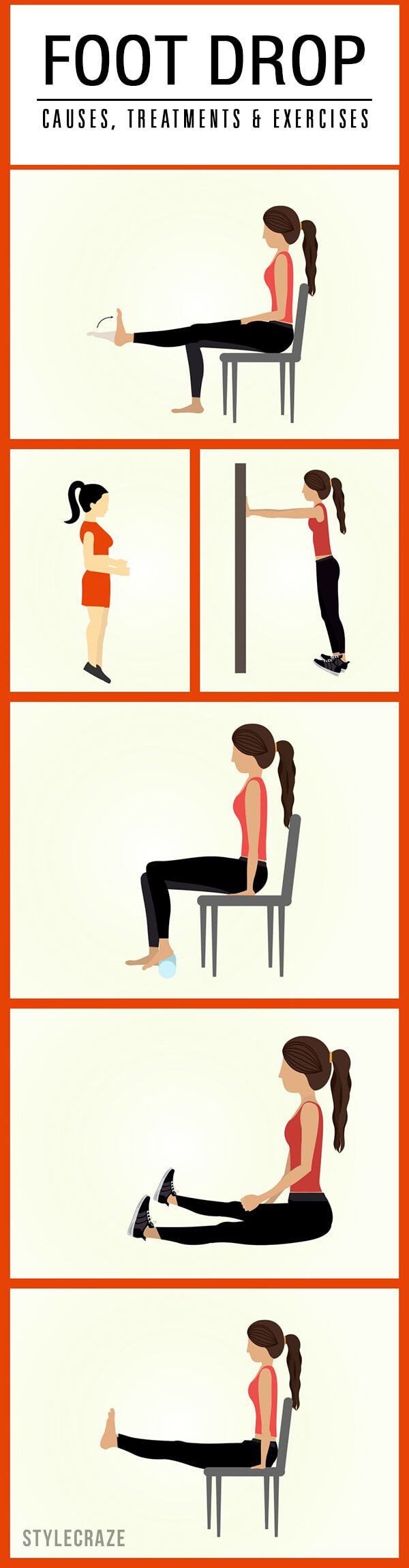 Foot Drop- Causes, Treatments And Exercises