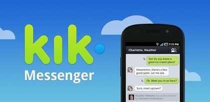 برنامج كيك تحميل وتنزيل أخر إصدار Kik Messenger