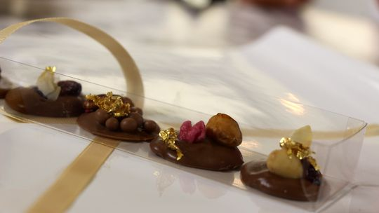 Making chocolate buttons | Balance by Deborah Hutton