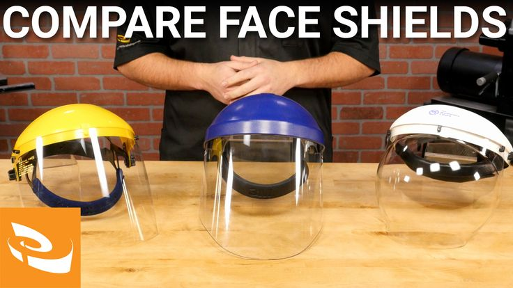 Comparing Face Shields from Craft Supplies USA A face