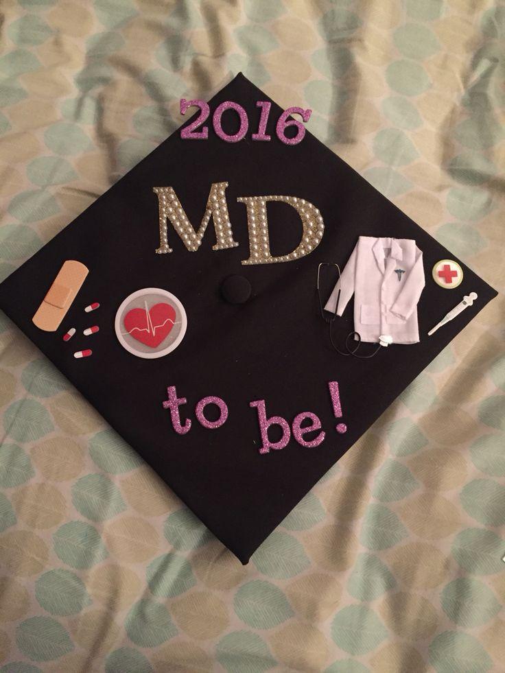 Undergraduate Graduation Cap Medicine Premedical