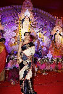 Kajol  Celebrates Durga Puja.