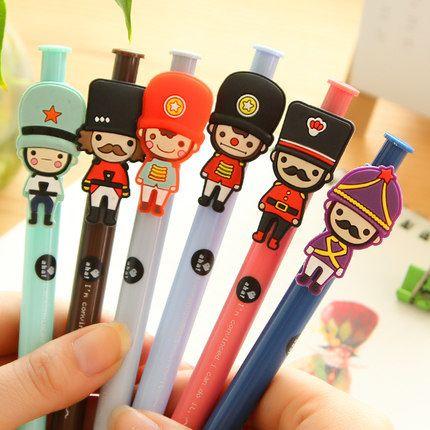 Bolígrafos con simpáticos Guardias