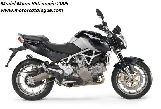 2009 Aprilia (Italy) Mana 850